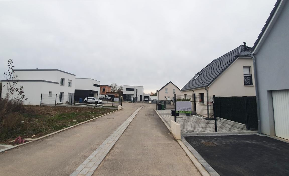 Lotissement Wittenheim construire sa maison