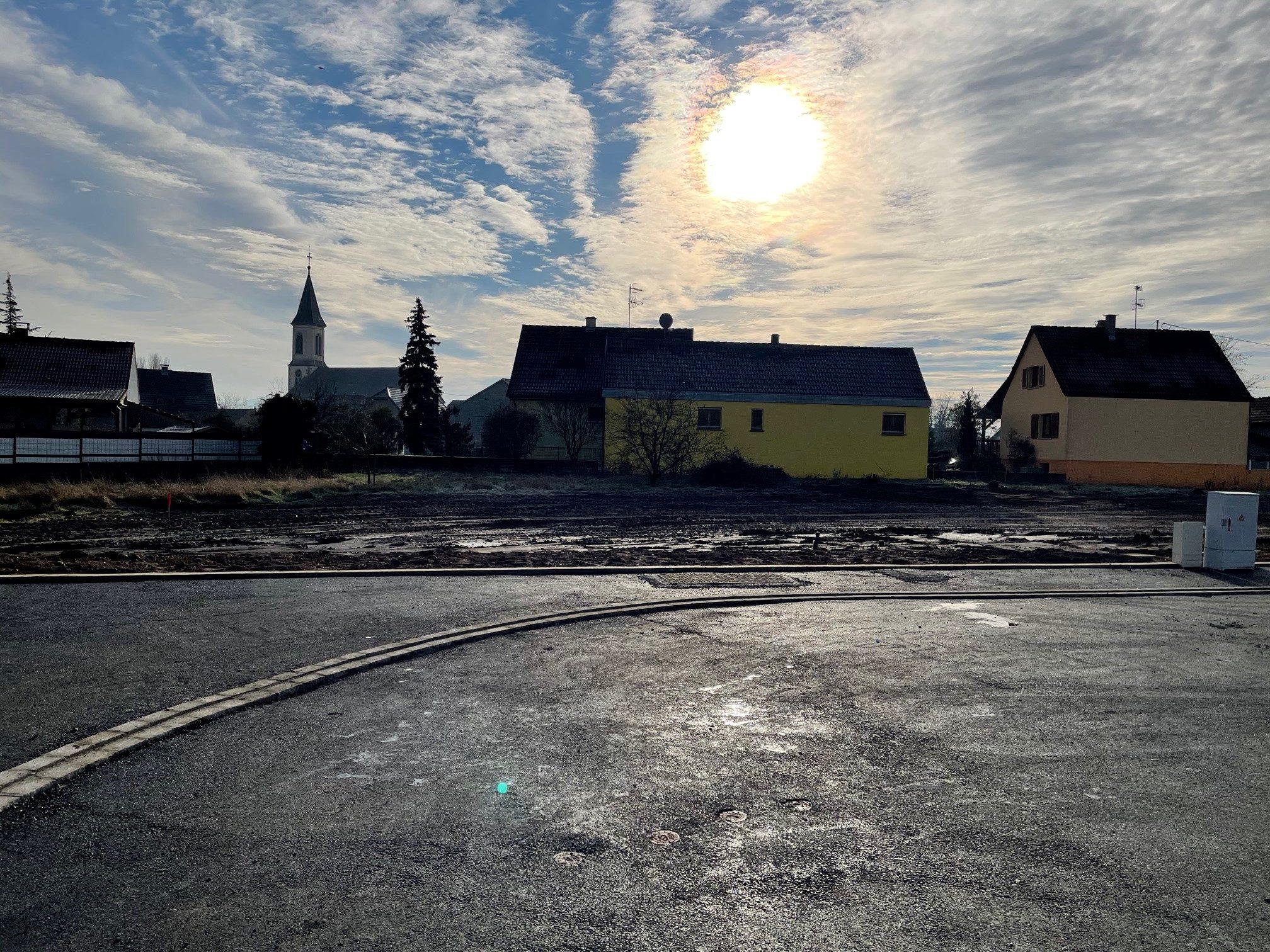 Lotissement créé à Algolsheim